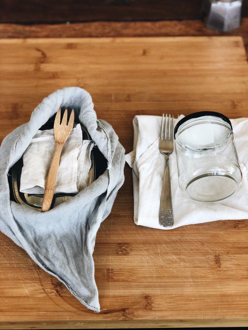 pranzo da asporto zero waste