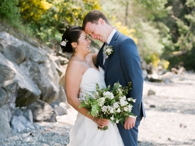 featured wedding - NICOLE+STUART