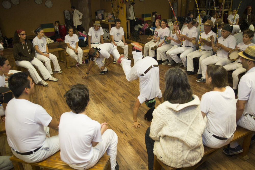 A Capoeira Angola Roda here in Flagstaff!