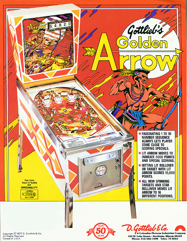 GOLDEN ARROW - 1977