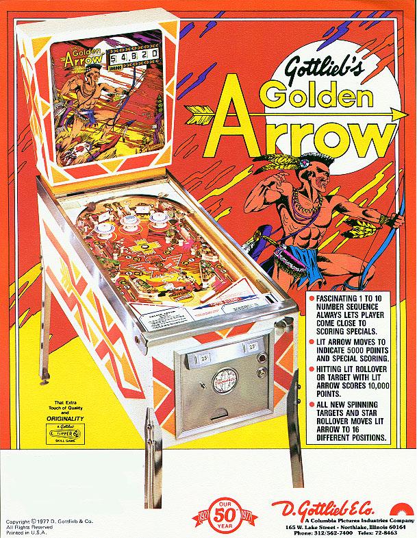 GOLDEN ARROW - 1977