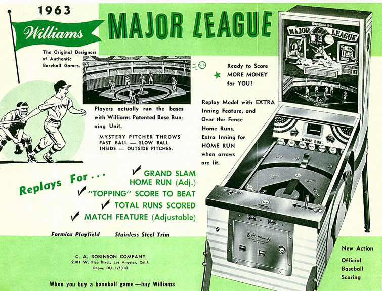 MAJOR LEAGUE - 1963