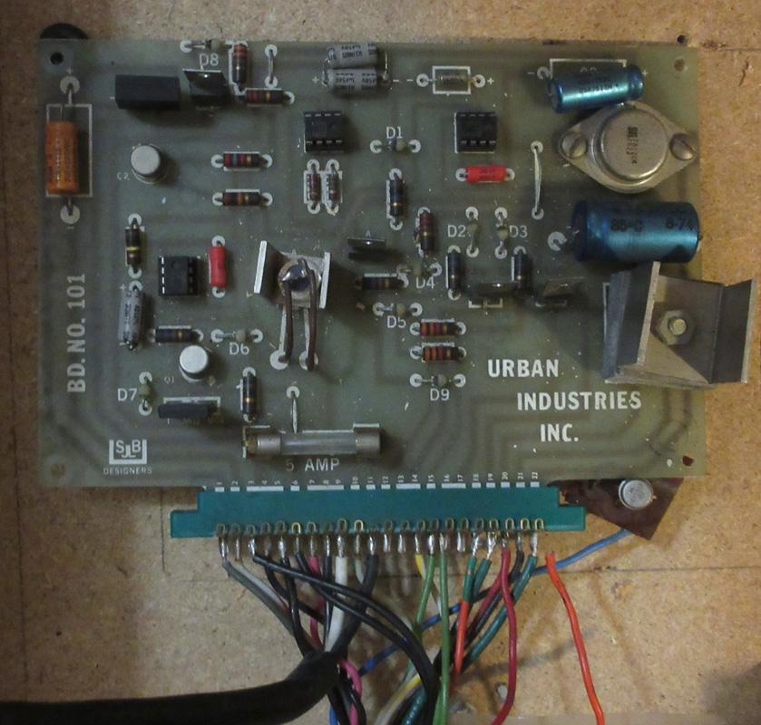 Original Kiss-a-Scope circuit board
