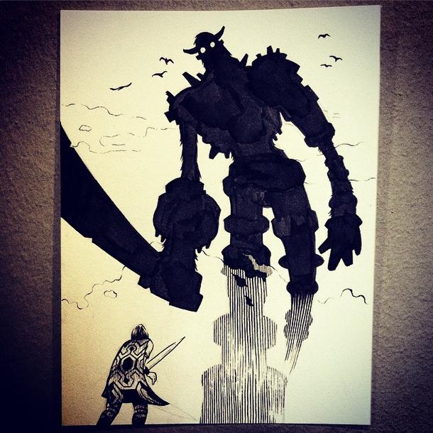 6 - Colossus #inktober