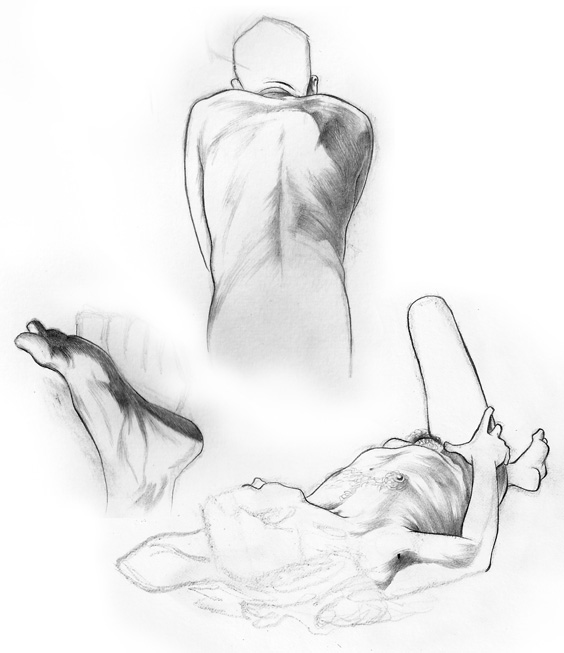 Life drawing night, 10/23/2012