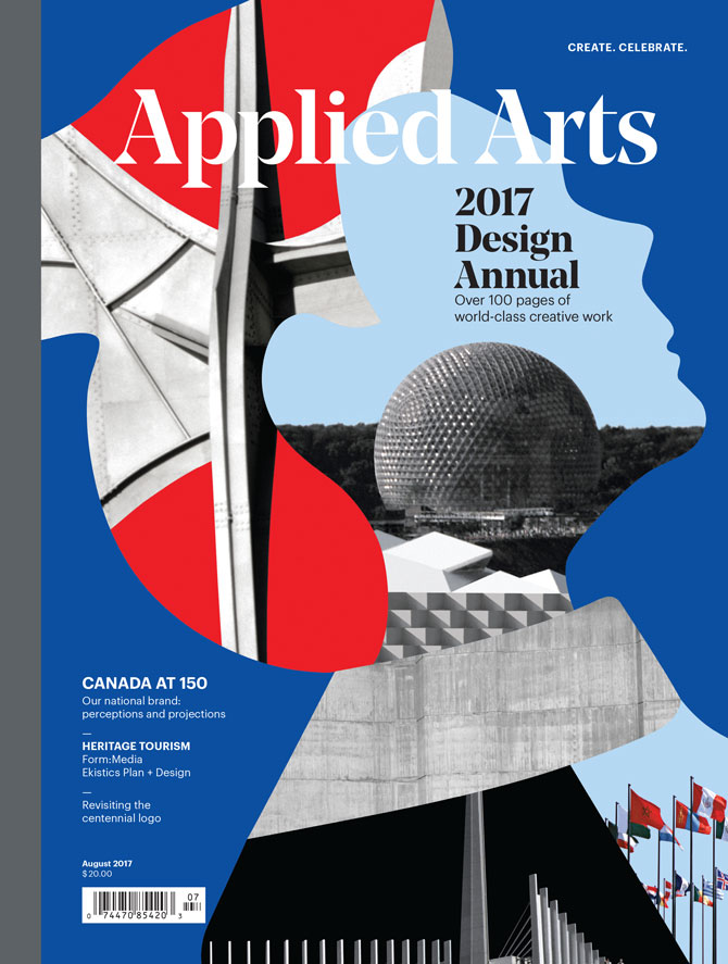 July 2017 Design Annual issue of Applied Arts Magazine.