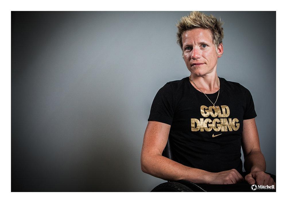 Gold Winning Belgian paralympian Marieke Vervoort - After London 2012