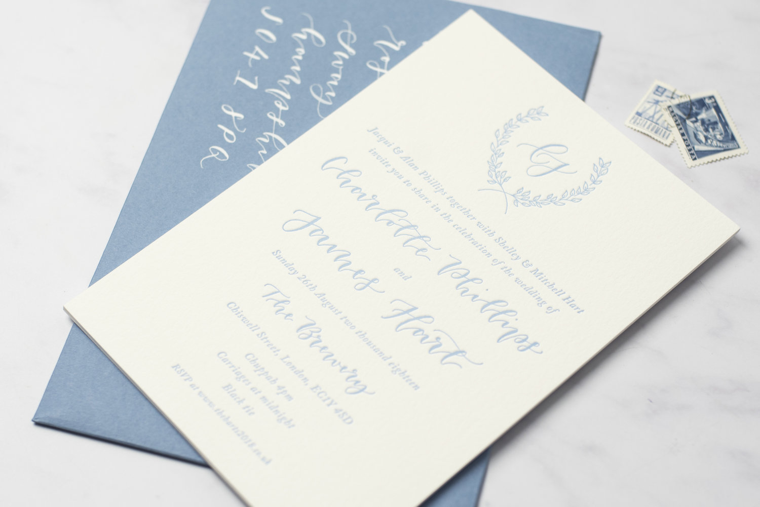 oh wonder modern calligraphy bespoke stationery studio