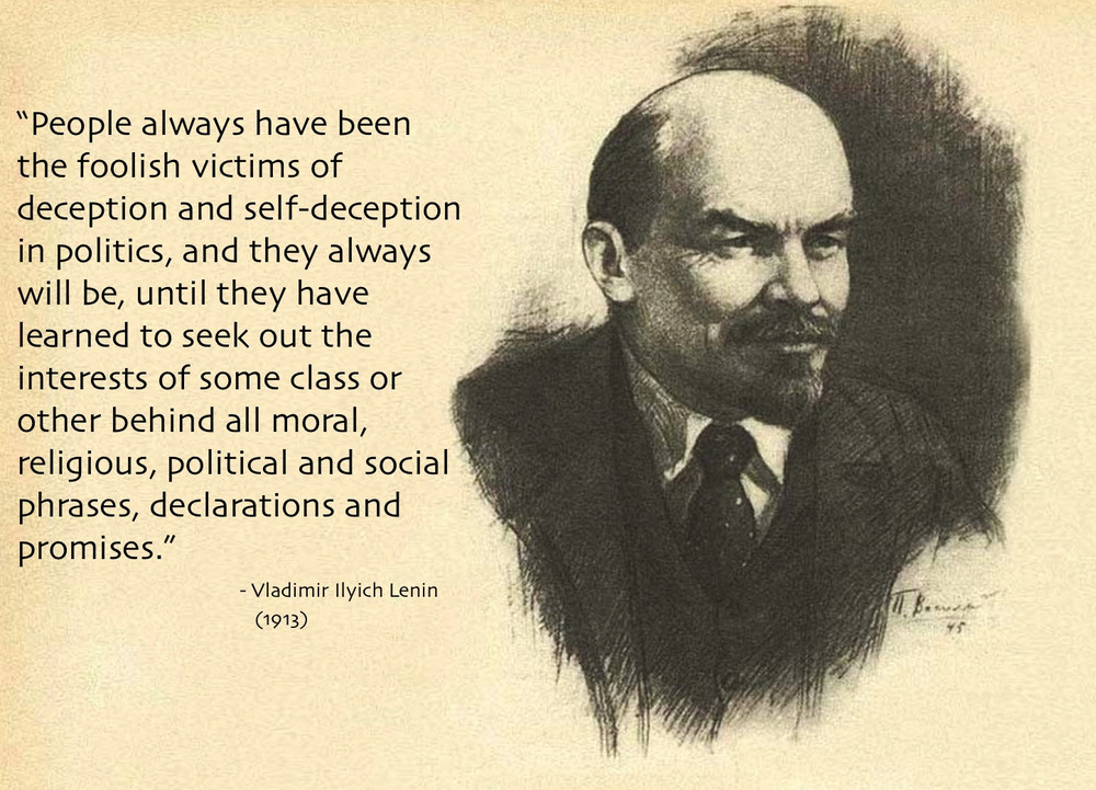 Lénine inspiré de Marx