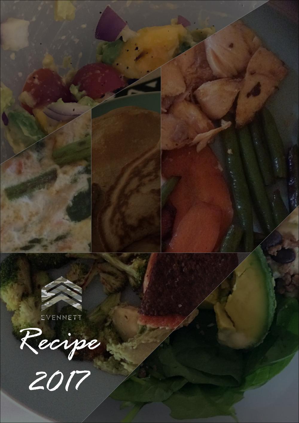 Recipe Guide 2017