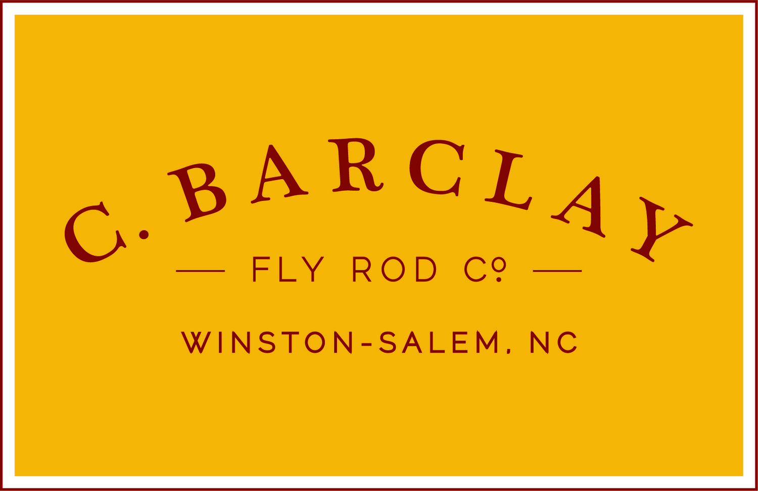 C. Barclay Fly Rod Co.
