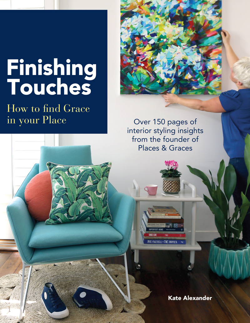 Finishing Touches interior styling book