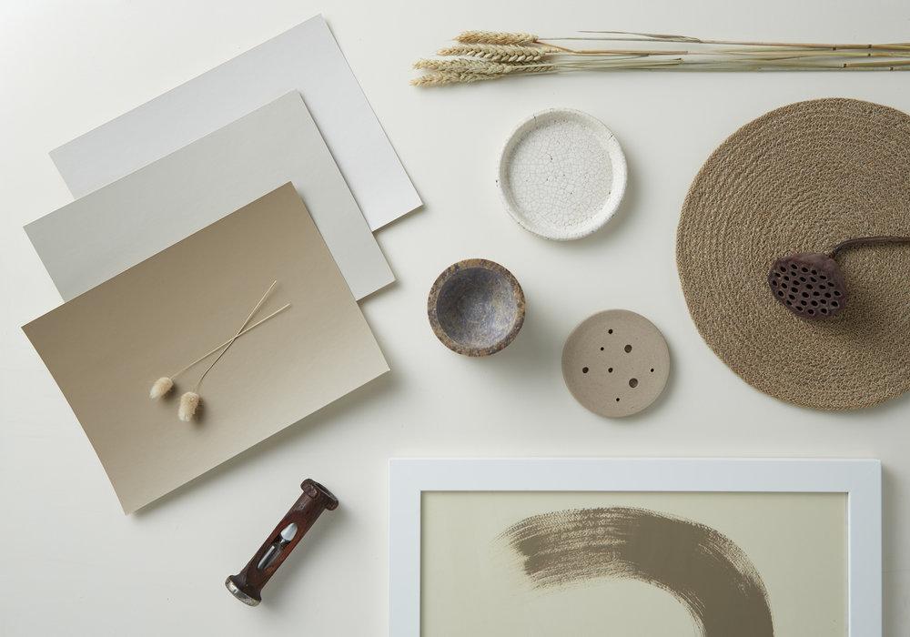 Kate Alexander,flat lay, Resene  Spanish White+Whitewash+Napa+Artisan+Egth Stonewashed,photo Bryce Carleton.jpg
