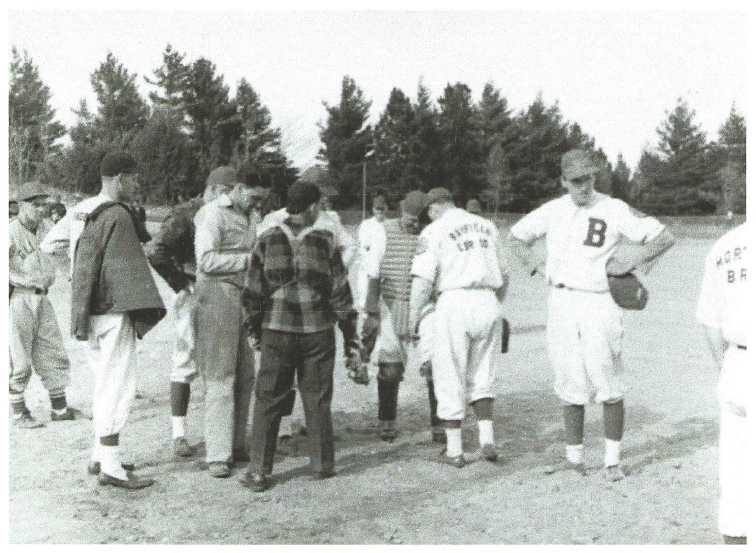 Baseball Game:  Bayfield Lumber vs Morty's Bayfield Heritage Association, BHA 1980.60.14