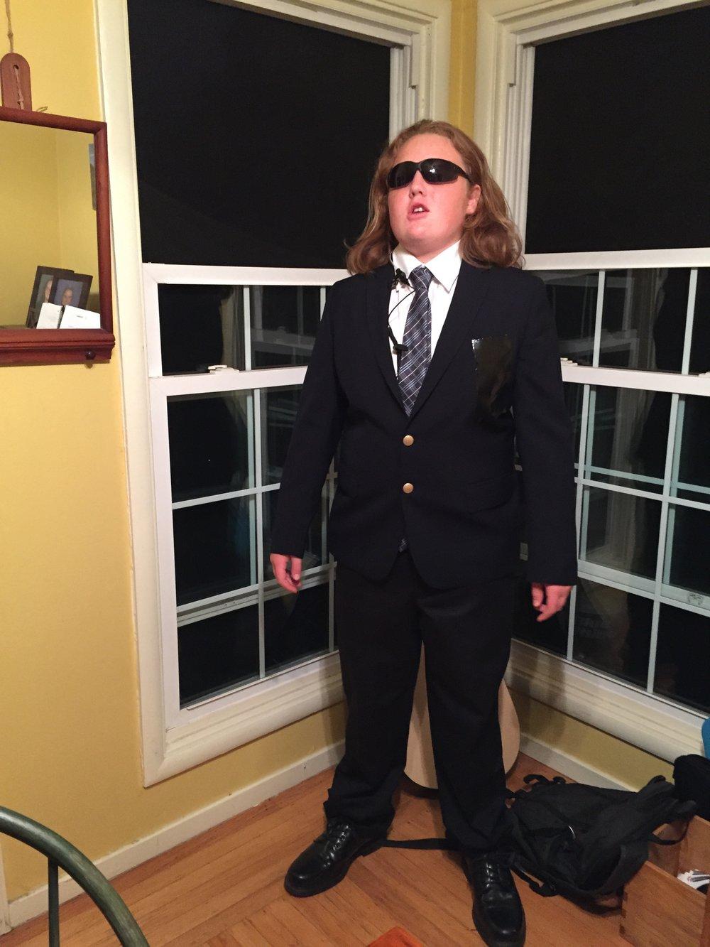 Secret Service Agent, and...