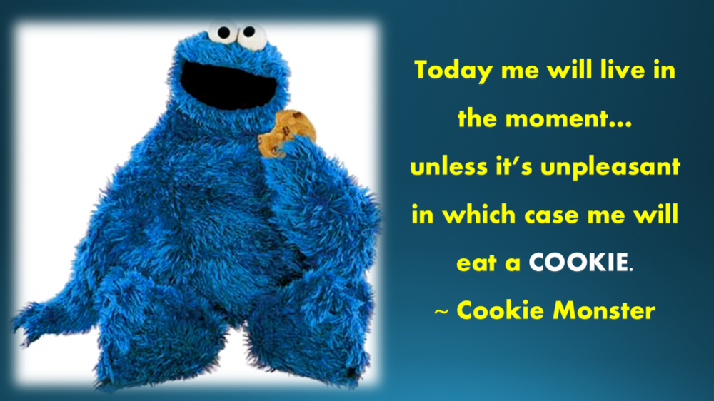 Ok, ok, C is also for cookie.