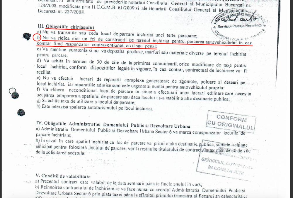 CONTRACT ADMINISTRATIA DOMENIULUI PUBLIC SI DEZVOLTARE URBANA SECTOR 6 - STR. SCULPTORILOR 57A