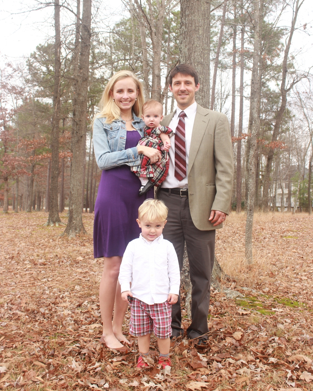 Cathleen, Ruby, Trey, and Sawyer