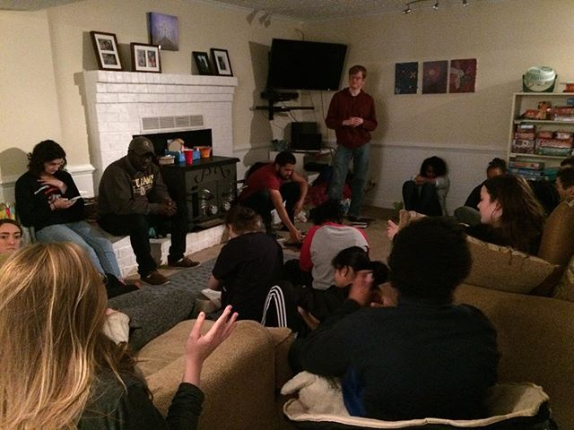 Saturday morning, the #grcocteens we're able to wake up to listen to the Word of God. The workshop was filled with lessons to inform and encourage the teens about the missions and bright futures they have ahead of them!