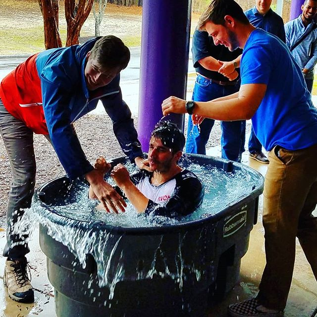 Naryan Kapil, campus student, baptized! #grcoccampus #rvadoc #baptism @mattattackratatat @trapcel @collin_coleman @samuel_grcoc