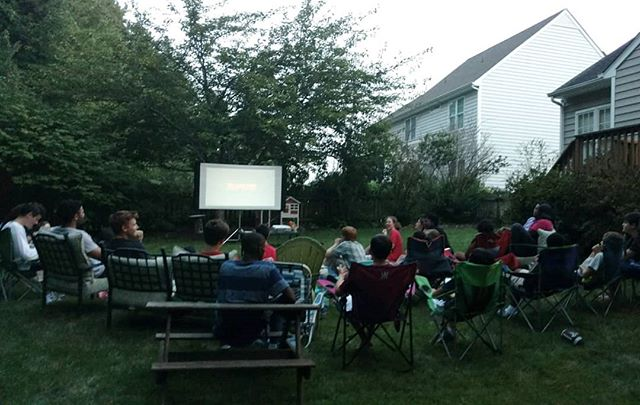 From our movie night a few weeks ago, watching the winner of our 2018 Movie Madness Tournament, The Lion King.