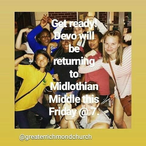 Be there! #grcocteens