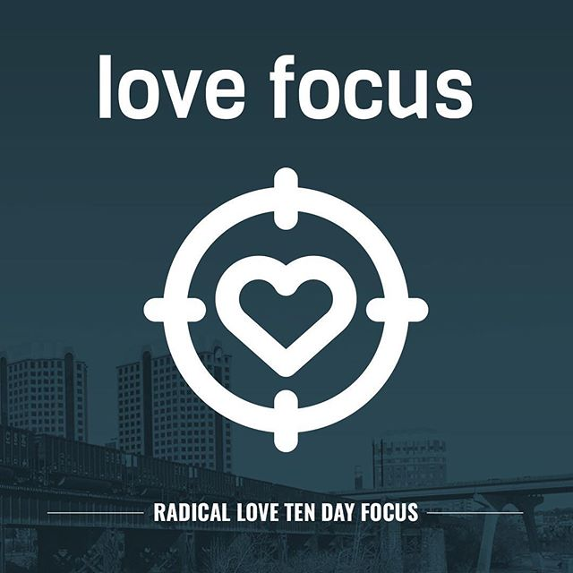 We begin our campaign on Radical Love today! As we read through Randy's book we're going to spend our first ten days FOCUSING on love. Meditate daily on an aspect of God's character of love. #church #worship #love #radicallove #richmond #rva #jesus #god