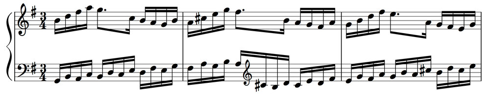 Goldberg Variations: Variation 17