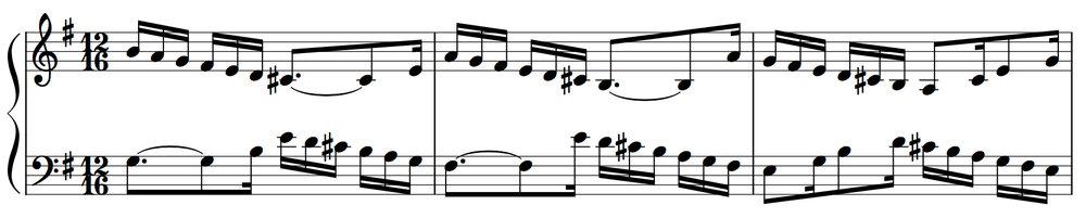 Goldberg Variations: Variation 11