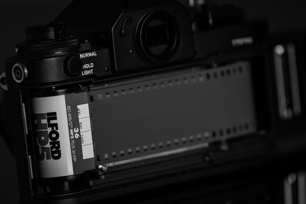 Loading a roll of film is a tactile delight.
