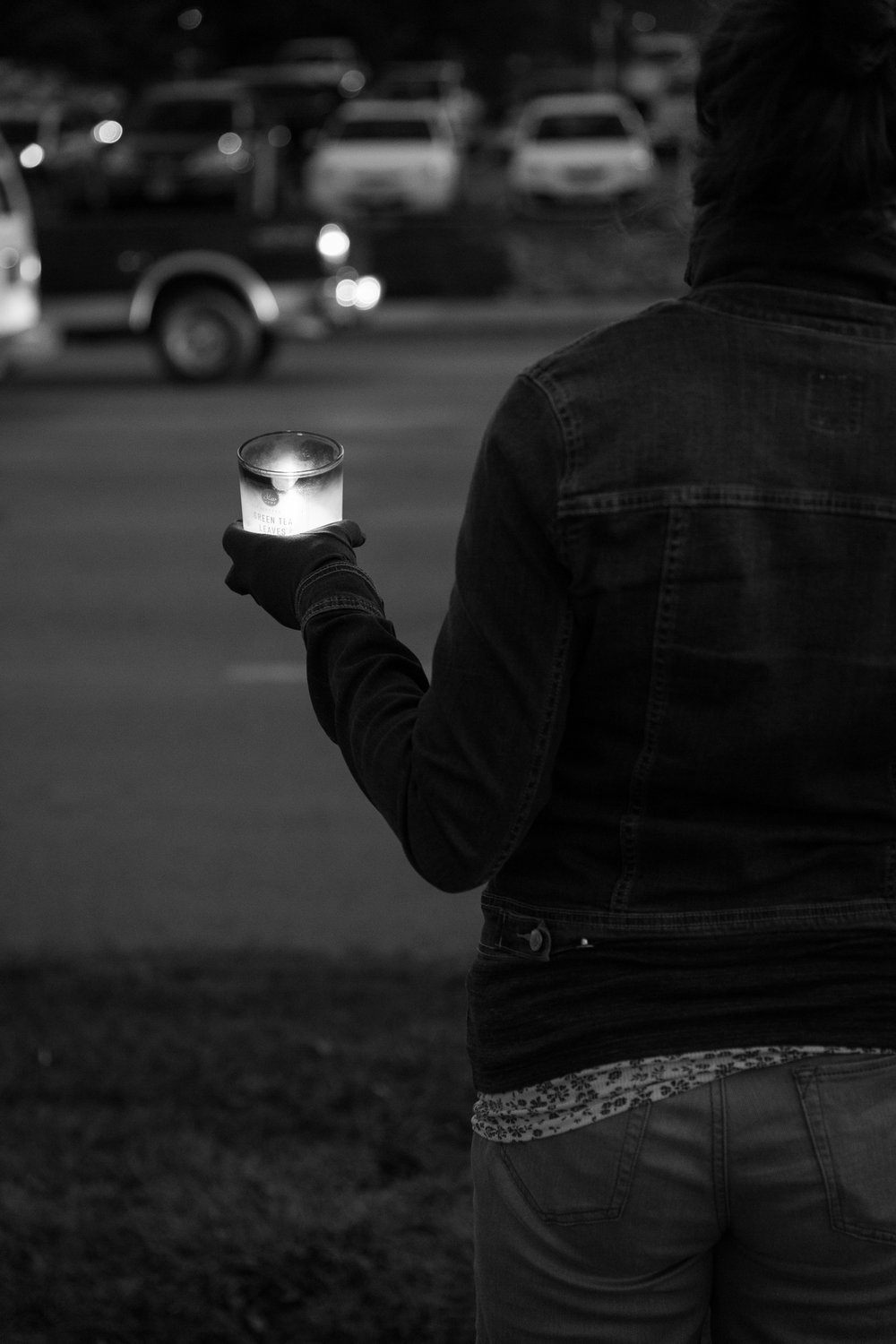 Light the Way for Refugees. Omaha. 2017.