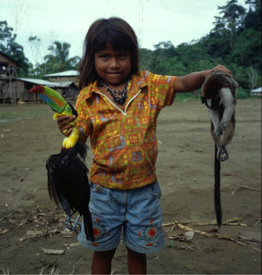 So what?  An indigenous girl in a jungle community still ruled by malaria and war.