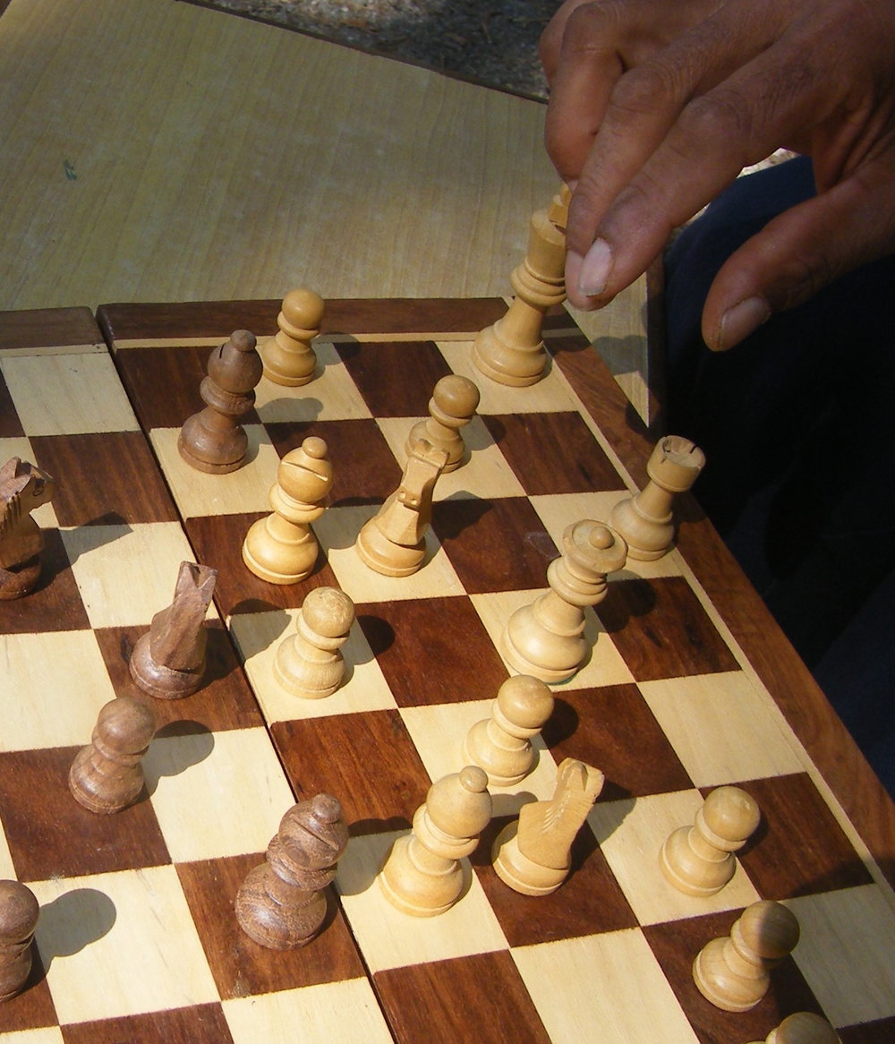 how to create a new role in a new game? Go ask the knights , bishops and pawns how they are moving, and why!
