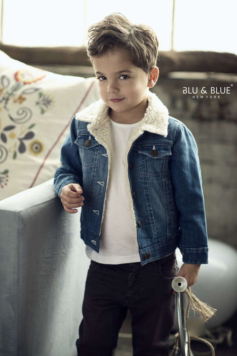 TB 748 Alaska fleece lined denim jacket.jpg