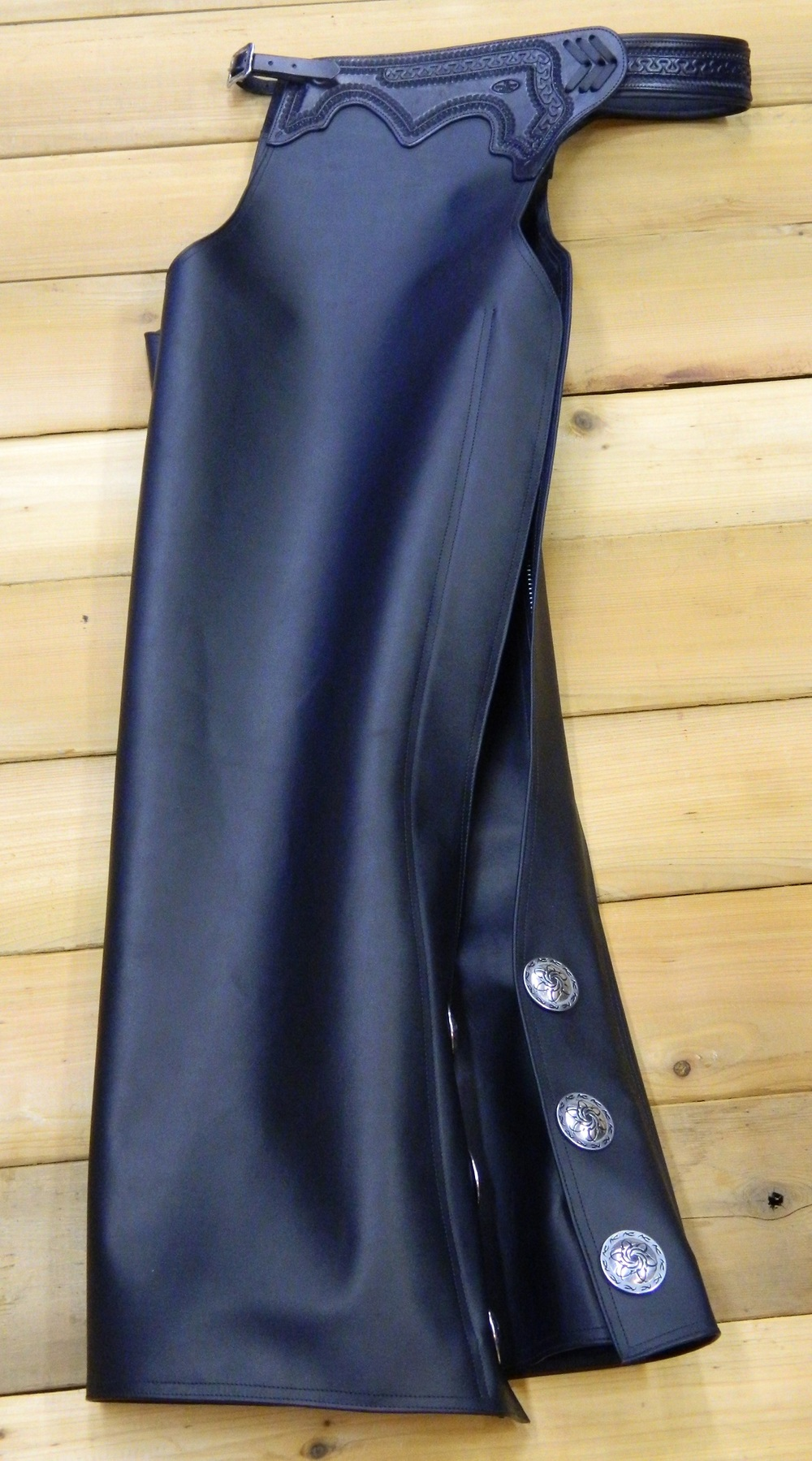 Custom Motorcycle Chaps - Gene