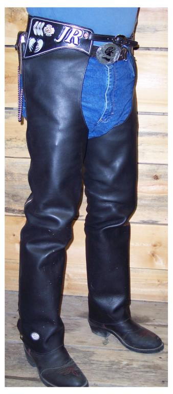 Custom Motorcycle Chaps - Jim R