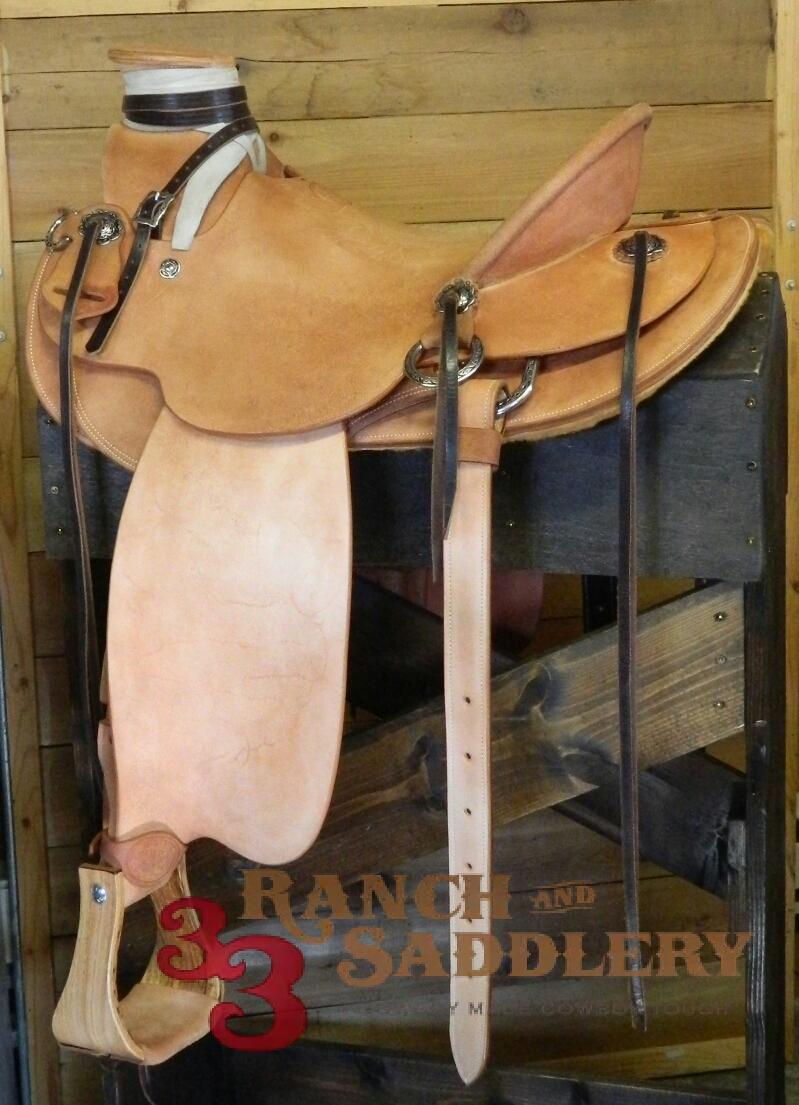 Custom Wade Saddle - Garin