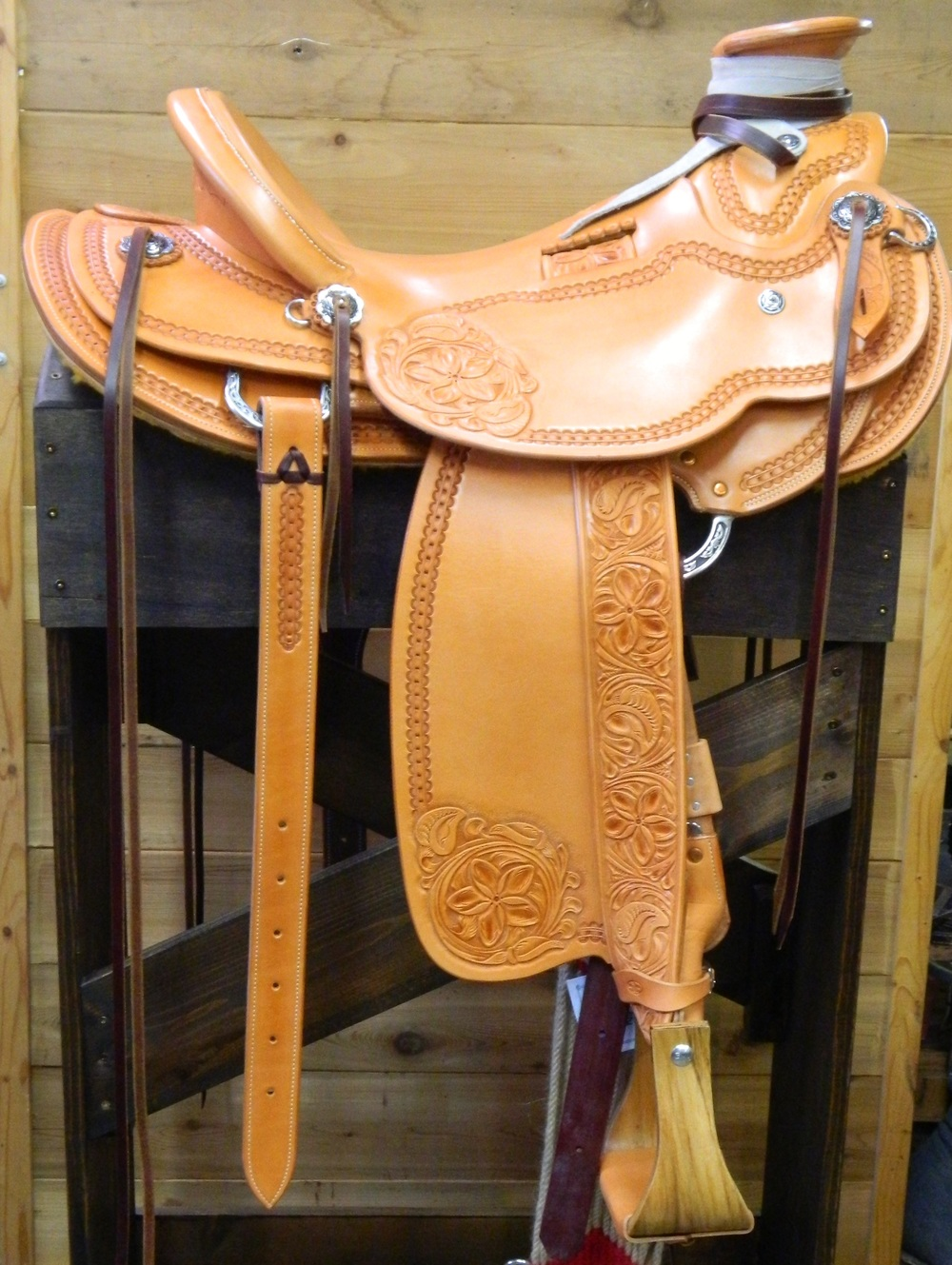 Custom Wade Saddle - Melinda
