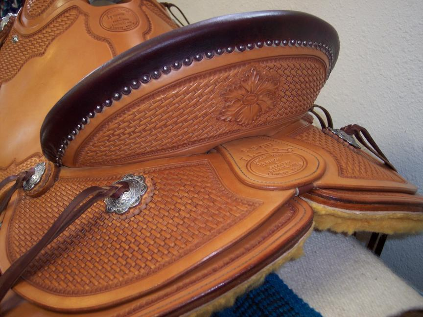 Custom Wade Saddle - Tooling Detail
