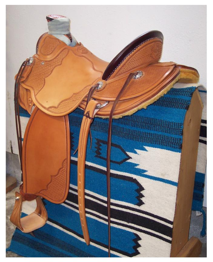 Custom Wade Saddle - Oregon Wade