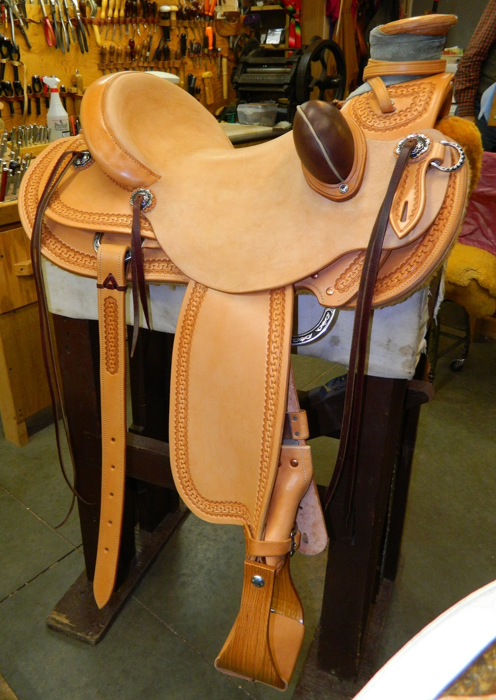 Custom Wade Saddle - Michelle