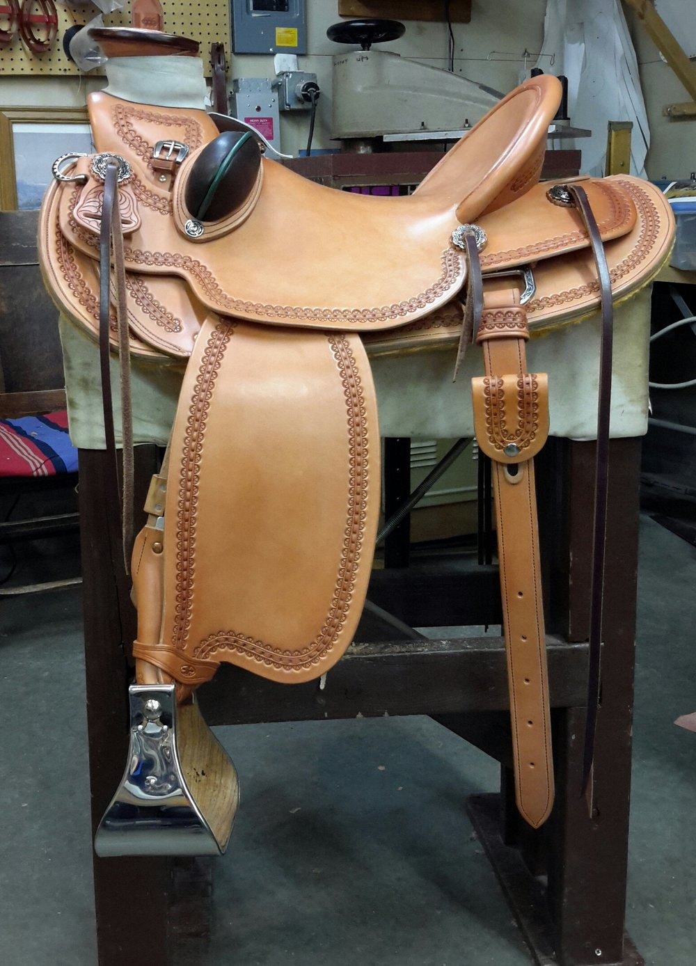 Custom Wade Saddle NK