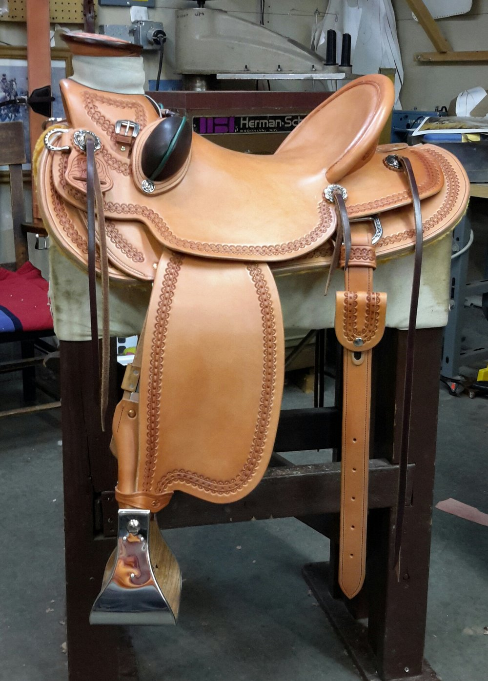 Custom Saddle NK Wade