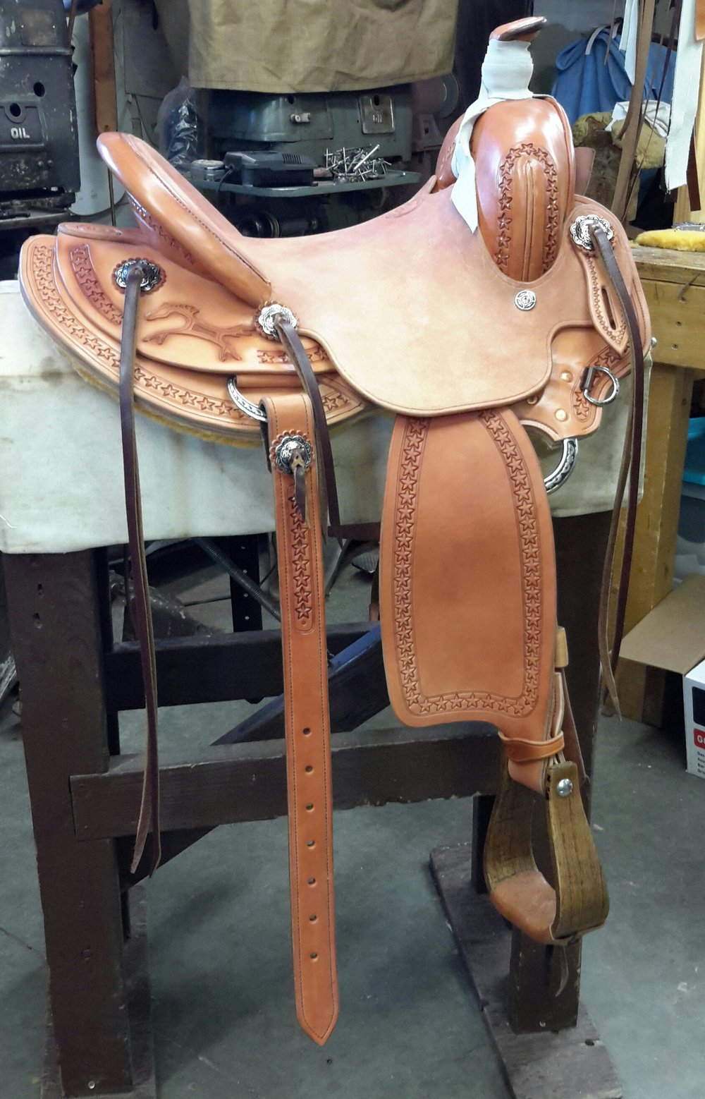 Custom Saddle Lonnie