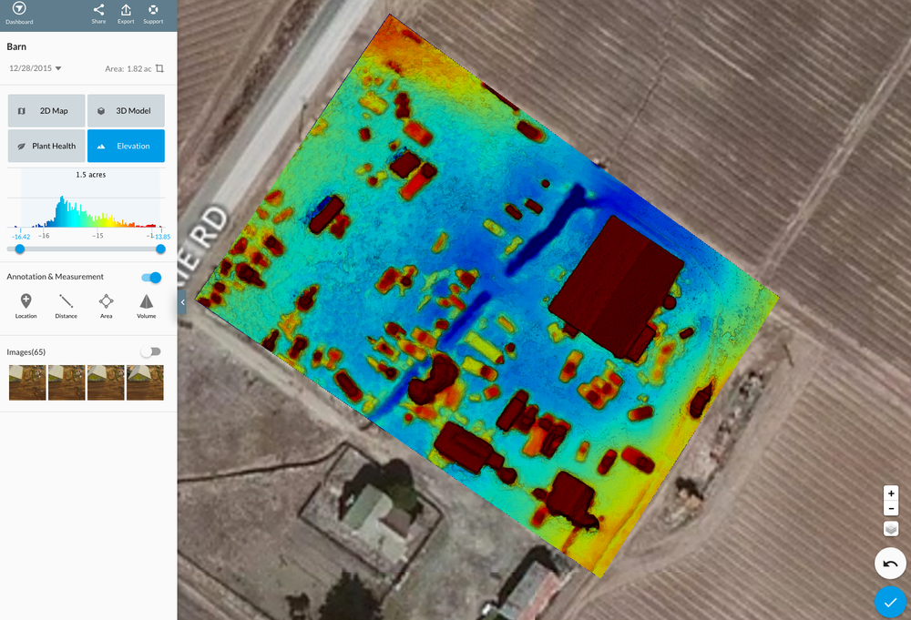 Agricultural Applications - Agricultural producers must embrace revolutionary strategies for producing food, increasing productivity, and making sustainability a priority. Drones are part of the solutionUsing specialized agricultural analyzing software, we provide soil field analysis, crop monitoring, health assessment of your fields and livestock and more.