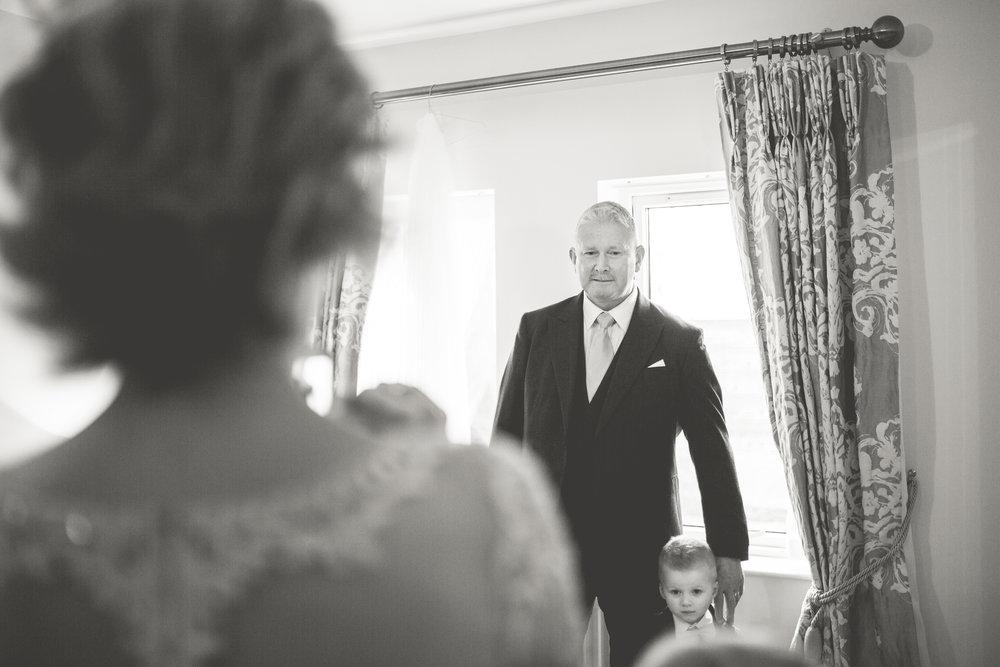 Down Wedding Photographer | Ards Peninsula Wedding Photographer | Bride's Father & Bride's Mother