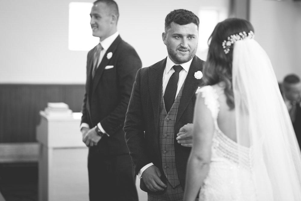 Brian McEwan | Northern Ireland Wedding Photographer | Rebecca & Michael | Ceremony-29.jpg