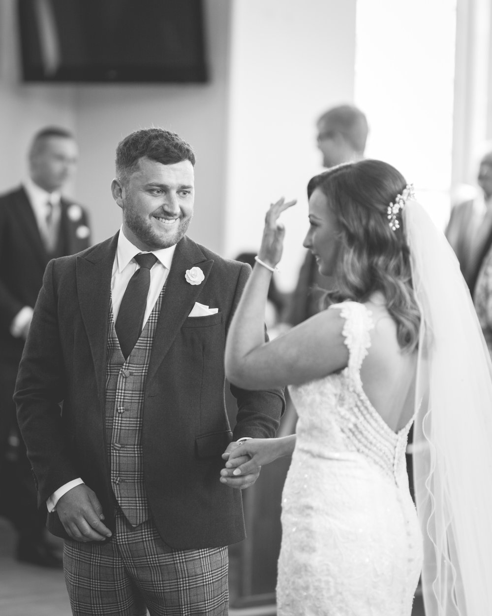 Brian McEwan | Northern Ireland Wedding Photographer | Rebecca & Michael | Ceremony-33.jpg