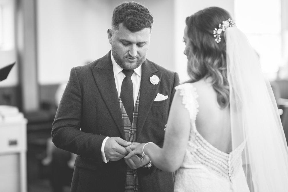 Brian McEwan | Northern Ireland Wedding Photographer | Rebecca & Michael | Ceremony-70.jpg