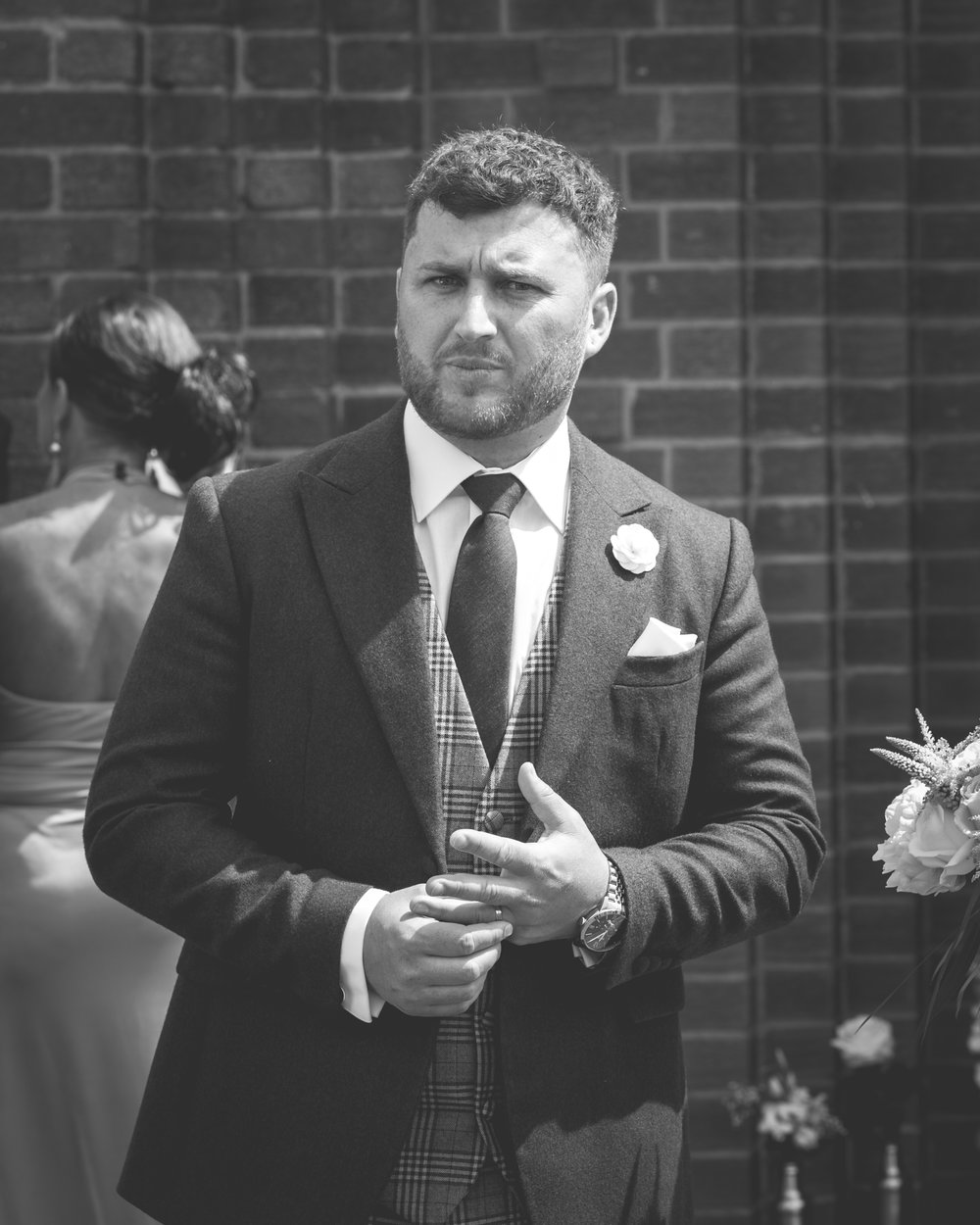 Brian McEwan | Northern Ireland Wedding Photographer | Rebecca & Michael | Ceremony-118.jpg